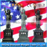 Hot Sale The Statue Libertyinc Souvenir Zinc Alloy Die Casting Metal Craft for Home Decoration