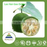 Manufacturer Supply 100% Natural Luo Han Guo Extract Powder Mogroside v