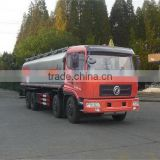 Dongfeng 25000L gasoline refueling truck with various equipment: oiling machine, discharge pump, fire extinguisher, etc.