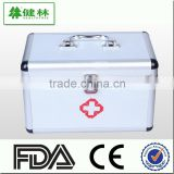 First aid box, Aluminum alloy health care case