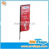 flex material for outdoor beach banner flags