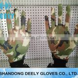 high quality transparent nitrile palm coated garden working glove for ladies manufacturer