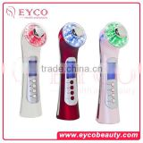2016 New Fashion 7 Color Photon Skin Care Rejuvenation Rechargeable Ultrasonic Led Light Best Natural Beauty Products