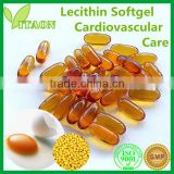 1200 mg ISO GMP Certificate and OEM Private and OEM Private Label Soy Lecithin Powder Softgels