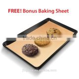 "(2 Pack) 13"" x 17"" Reusable Cookie Sheet Liner / Cake Pan Baking Mat *Non-Stick*"