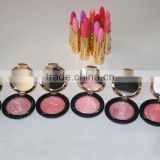 easy carry fashional blush palette baked cheek color lasting blusher
