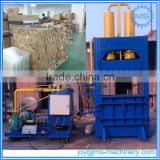 Professional fiber baling press machine for waste paper,cotton,wool,plastic,used clothes