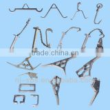 stainless steel meat hooks or metal hook used for small accessories of slaughtering line or meat hooks butcher