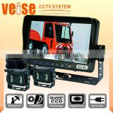 "7"" Digital Screen Monitor Support Three-channel Back Up Camera System"