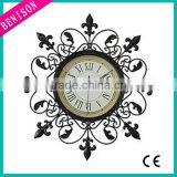 Spring Hands Movement time alarm wall mounted clock