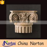 hotel decoration marble antique greek column capitals wholesale NTMF-CP014Y