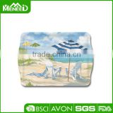 Full print recycle eco top grade acacia plastic melamine chopping board wholesale cheese boards