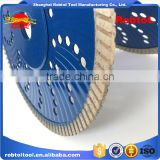 "7"" 180mm Socket Flange Turbo Rim Diamond Saw Blade Multi Hole Angle Grinder Circular Cutting Disc Disk Wheel Universal Stone"