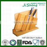 High Quality Anti-bacteria Bamboo Kitchen Wood Knife Rest for Sales