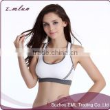 Girls customer sport seamless hot sex women's sports bra