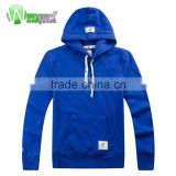 2016 Latest Design Seamless Blue Sports Men Zip Up Hoodie, High Quality Zip Up Hoodie