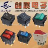 KCD4 Illminated Rocker Switch