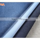 China new 8oz thin pure cotton dark blue for T-shirt denim jeans fabric manufacturers in China B2674