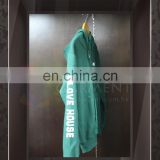 Wholesale High Quality with logo women Forest Green zip up