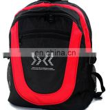 red and black backpake for taekwondo
