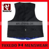 Modern new coming relaxing polyester men's waistcoat