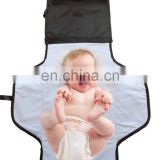 Portable Baby Changing Station Diaper Bag Compact Changing Table Cover