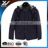 Customizing Casual Men's Medium to Long Outwear Hooded cotton winter Coat ,winter warmer jakcet .