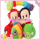 Custom fashion style soft plush cartoon animal toys for kids
