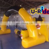 Hot Selling Inflatable Paintball Bunker For Paintball Game