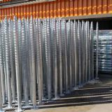 Hot Dip Galvanized Earth Pole Anchor Ground Screw Pile
