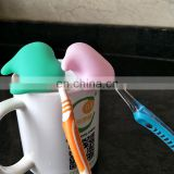 Travel Outdoor Silicone Toothbrush Head Cover Holder