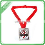 Wholsale Factory Custom Sport Marathon Running Metal Medal With Ribbon