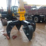 Excavator Arm Attachments Rotating Polyp Grabs