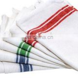 check and stripe cotton woven kitchen towels