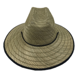 Custom Australia men's brands straw surf hat lifeguard safari straw hat Sombrero straw hat wholesale
