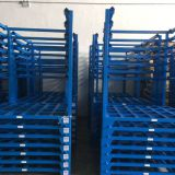 Warehouse storage metal pallet stacking rack
