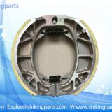 CG125 brake shoe for Honda CG125,weightness of 180g,brake shoe with quality rubber lining