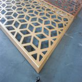 Aluminum perforated facade panel