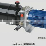 hydraulic power pack 220v, double acting hydraulic power unit for lift table                                                                                                         Supplier's Choice
