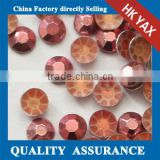 pink 2mm-8mm high end top quality korean hotfix rhinestuds,hotfix rhinestuds korean for christmas ornament arment accessory