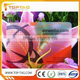 high quality hot sale clear plastic business card / Transparent plastic business card free sample