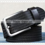 Fashion men's leather belts/cow gift
