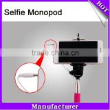 2015 latest smart products selfie stick for mobile phone Smartphone Monopod Selfie Stick cell phone accessories