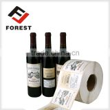 Supply cheap price red wine glass bottle brand label                                                                         Quality Choice