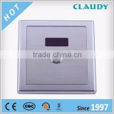 China Factory OEM Energy Saving Sensor Auto Flush Urinal with Manual Button