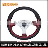 Customizable racing steering wheel,universal PU/PVC/leather 320mm 13inch car steering wheel