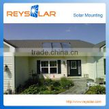 30kw home solar system tile roof tin roof pv portable solar mounting brackets for solar system