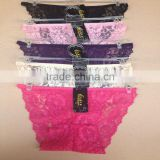 0.57USD Factory Wholesale Fashional High Quality Lady Sexy Panty / Assorted Colors (lppgdnk055)