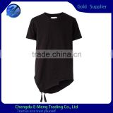 Wholesale Cheap Price Custom Fashion Blank Tshirt Black for Men                                                                         Quality Choice