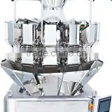 multihead combination weigher for waffle,almond,pistachio nuts,cereal,cracker,cocktail biscuit,corn snacks,lollipops,crispy rice
